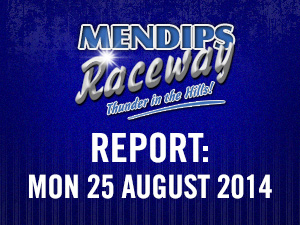 REPORT: Mon 25 August