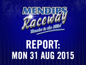 REPORT: Mon 31 August 2015